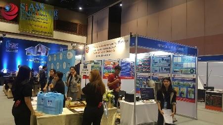 จัดบูธเสาเข็มสปันไมโครไพล์ งาน Concrete Asia 2018