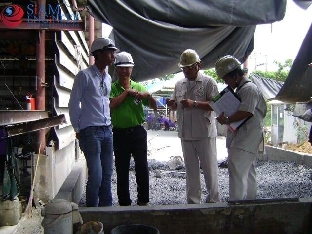 THAI TAKENAKA INTERNATIONAL CO.,LTD.เยี่ยมชมและตรวจสอบกระบวนการผลิต