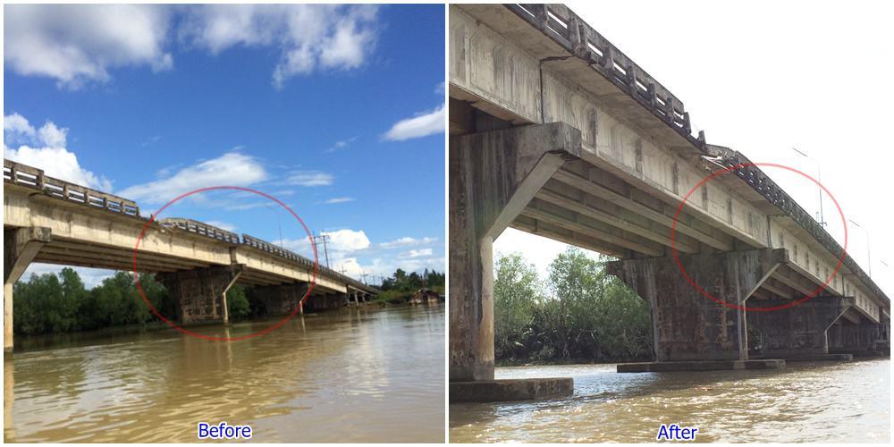 งานเลื่อนสะพานข้ามแม่น้ำตรัง