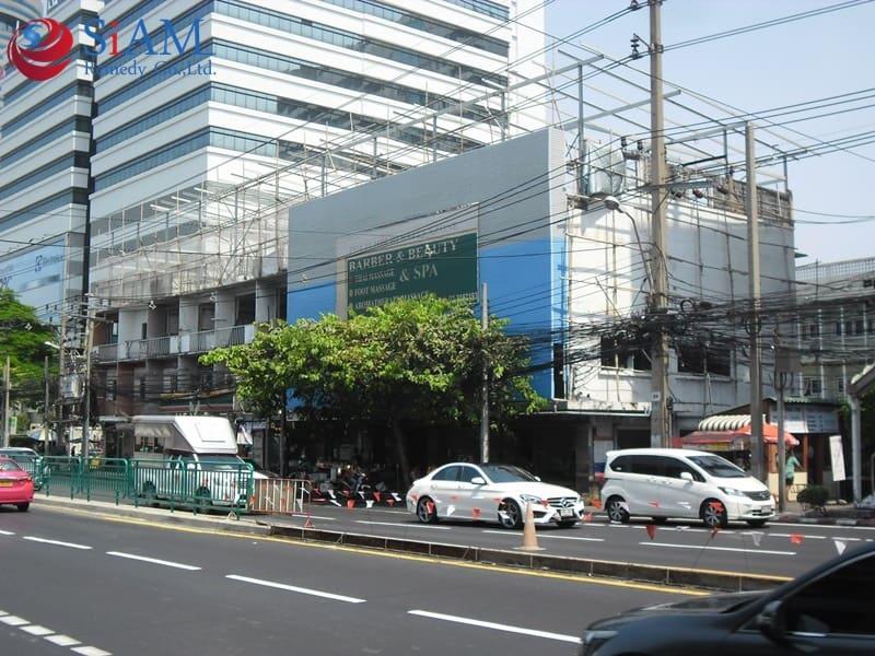 ตรวจสอบวิเคราะห์ ตึกแถว 10 คูหา ถนนเพชรบุรีตัดใหม่